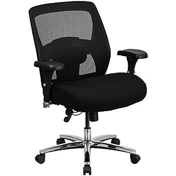 Flash Furniture HERCULES Series 24/7 Intensive Use Big U0026 Tall 500 Lb. Rated