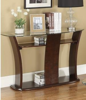 Glass Set Console Table - 5