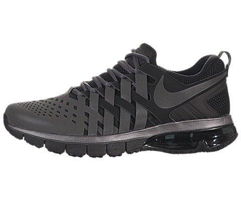7016cf239fae Nike Men s Fingertrap Max Running Shoes-Metallic Dark Grey Black-11.5 - Buy  Online in Oman.