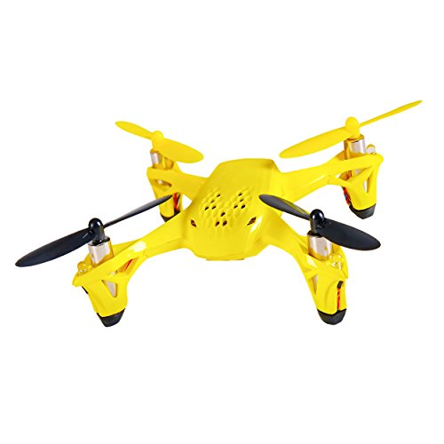 Hubsan H108 Spyder 2.4GHz 4-Channel RC Quadcopter, Remote Controller Included, Yellow