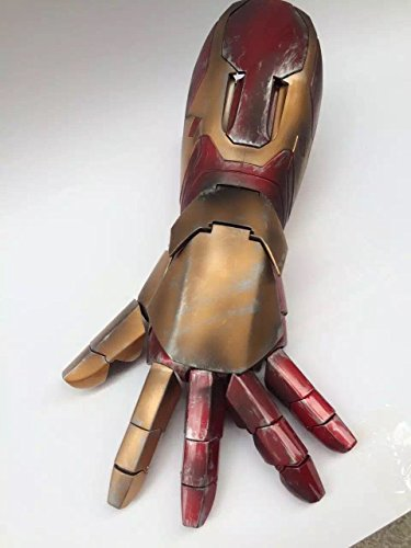 Cattoys 1/1 LED Armor Hand For Iron Man MK XLII 42 Cosplay (Iron Man Cosplay Armor)
