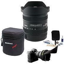Sigma 12-24MM F/4.5-5.6 II DG HSM AF Lens Bundle for Nikon AF, #204-306