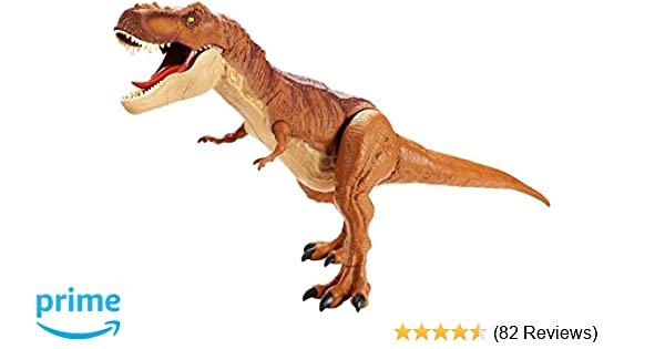 Amazon Jurassic World Super Colossal Tyrannosaurus Rex Dinosaur