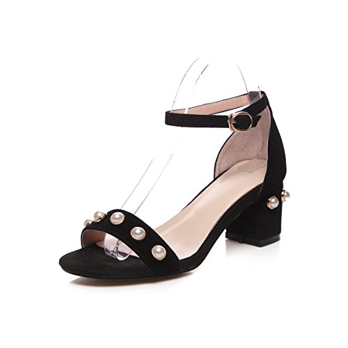 Donyyyy eight de mujer lijado de mujer alto verano zapatos Bolsa Thirty y tacón rw7qrgZ