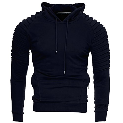Hoodie Navy L Xxl Kayhan Sweatshirt Con Originale Xl 2xl Cappuccio Giacca S M Uomo York modello Felpa New qwU1E