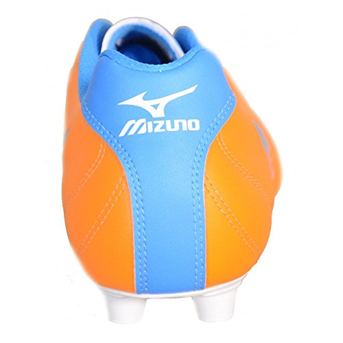 Mizuno - Mizuno Fortuna 4 MD Scarpini Calcio Arancio Pelle 158154 - Orange, 40