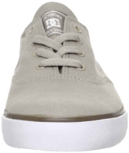 DC Shoes Flash TX Mens Shoe D0302911 - Zapatillas de tela para hombre Gris (Grau (TAUPE/STONE))