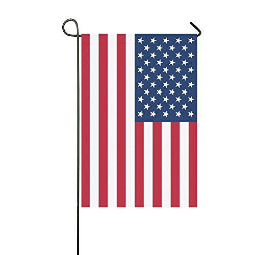 Lilyco-Home Patriotic USA Flag Double Sided Polyester Garden