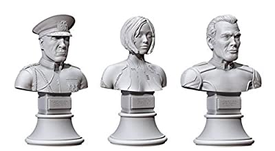 Halo: Fleet Battles UNSC Commanders & Heroes Bust Collection 1 by Spartan Games from Spartan Games