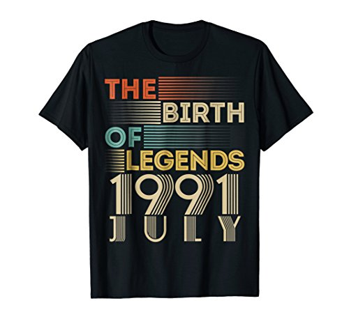 Vintage 1991 JULY The Birth Of Legends 27 Years Old (1991 Legends)