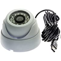 ELP 1.0 Megapixel 720p USB Camera with Microphone Ir Cut and Ir LED for Day&night Smart Video Surveillance