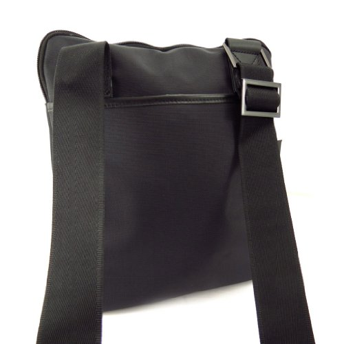 Azzaro [K6250] - Sac porté croisé 'Azzaro' noir (ultra plat - taille M)