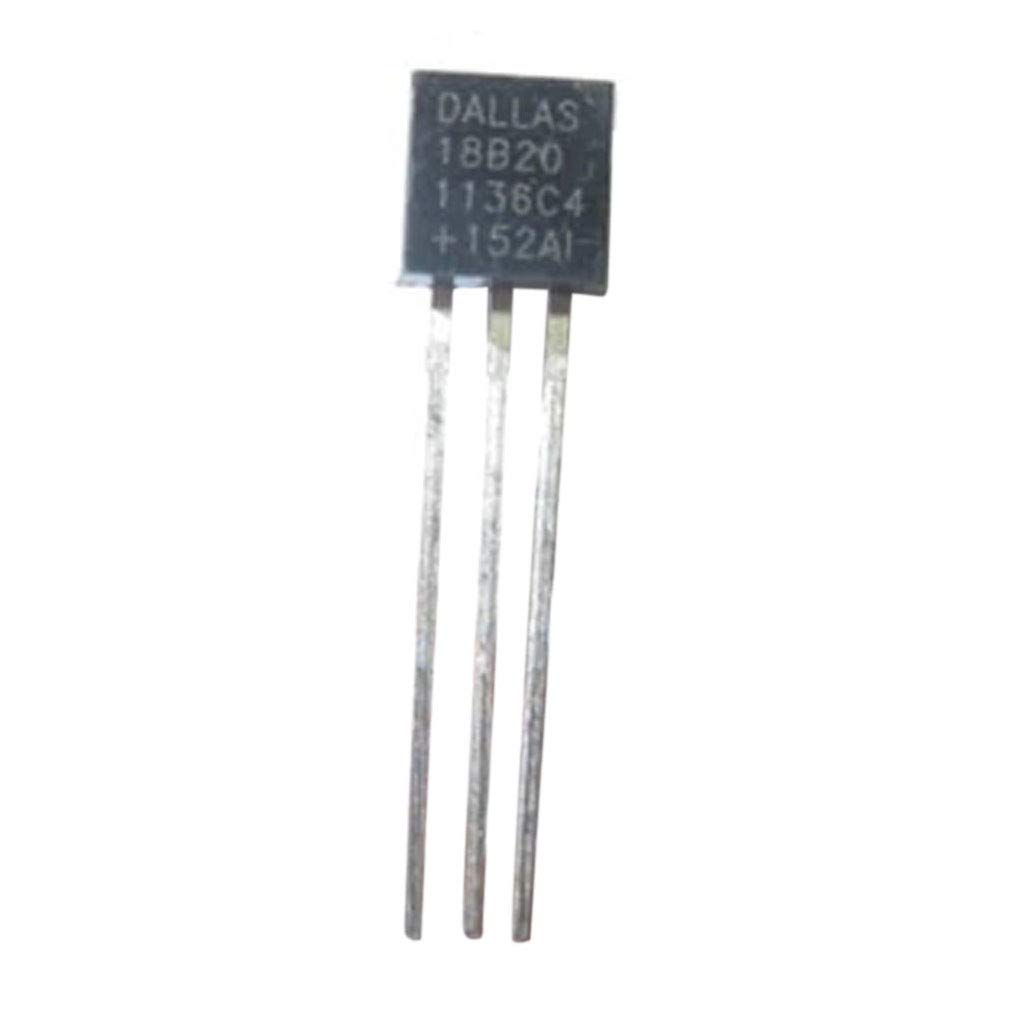 Kineca 1PC Dallas 18B20 DS18B20 TO-92 Wire Digital Temperatura del term/ómetro IC Sensor