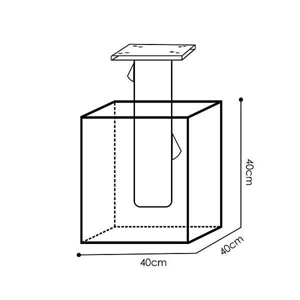 41ZbyUzqhFL KESSER® - Metall Universal-Bodenplatte Sonnenschirmständer für Sonnenschirm - Ampelschirm - Kurbelschirm   Bodenanker…