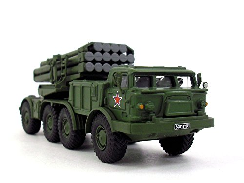 - Soviet BM-27 Uragan-Hurricane Multiple Rocket Launcher 1/72 Scale Diecast Model