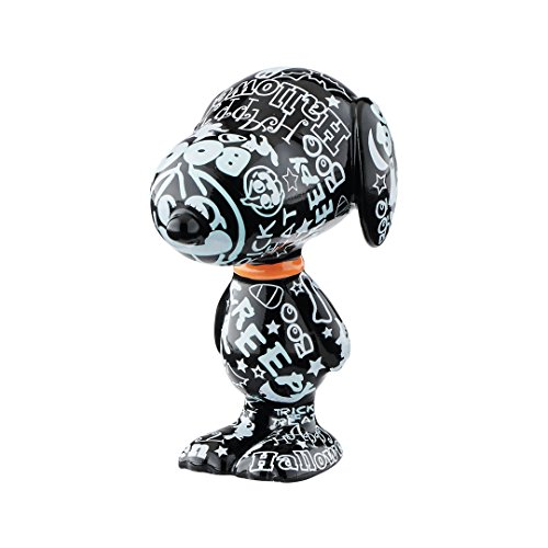 Department 56 Peanuts Halloween Hoopla Canine Figurine, 2.8