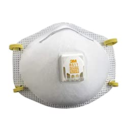 3M 8511 Respirator, N95, Cool Flow Valve...