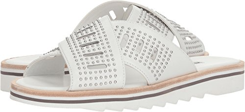 CHARLES BY CHARLES DAVID Women's Sneaky White Leather 6 M US