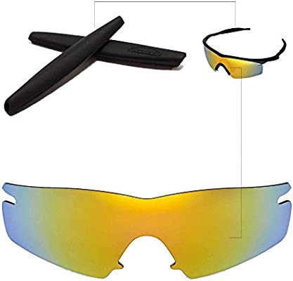 ff0bd0675d Walleva Replacement Lenses + Rubber for Oakley M Frame Strike Sunglasses -  26 Options Available (