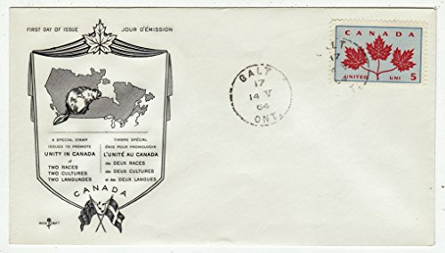 Canada First Day Cover Postage Stamp # 417 - Provincial Flowers & Coat of Arms - Canada ()