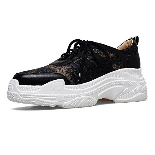 KJJDE Q1602 Baskets Tridimensionnel WSXY 35 Gold Femme Semelle Compensée De Hauteur Grain Plateformes Semelles À Chaussures rwgqFr