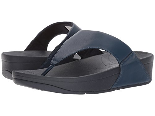 Fitflop Women's Lulu Thong Sandal (10 B(M) US, Midnight/Navy) by FitFlop