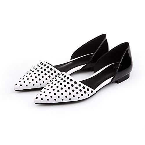 Cuña Mms06413 Blanco Sandalias Con 1to9 Mujer qZOtZw