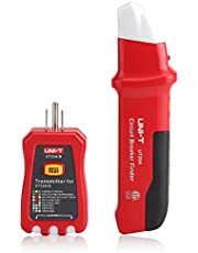 Circuit Testers - Professional Circuit Breaker Finder Sensitivity Adjustable Socket Tester Diagnostic-Tool for House, Office, Factory Power Network Reconstruction, Etc