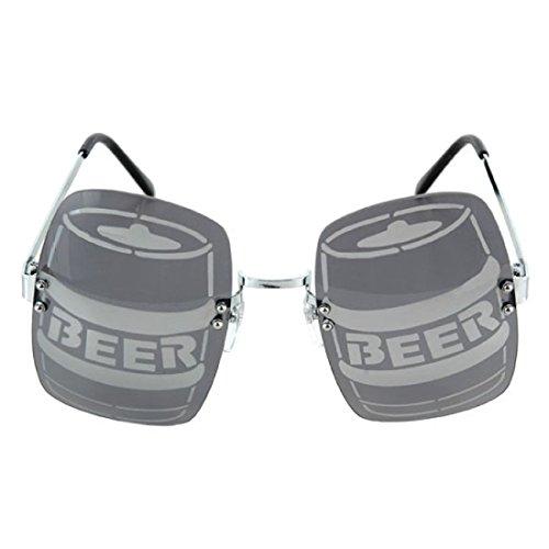 Rave Costume Party-BEER PONG KEG KEGGER SUN GLASSES-Novelty Graduation Gag - Movie Casino Sunglasses