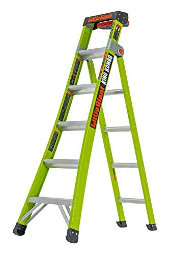 (Little Giant Ladder Systems 13610-001 King Kombo Professional 6' - 10', Green)