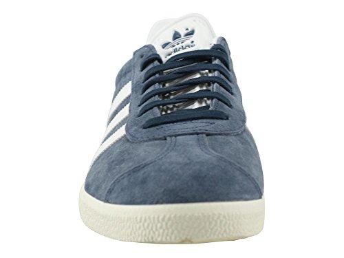 adidas Gazelle W, Zapatillas de Deporte para Mujer Azul (Trace Blue/footwear White/gold Metallic)