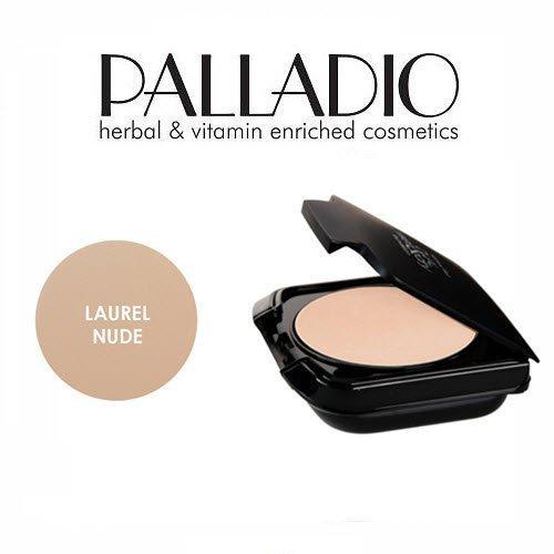 2 Pack Palladio Beauty Herbal Dual Wet & Dry Foundation 400 Laurel Nude