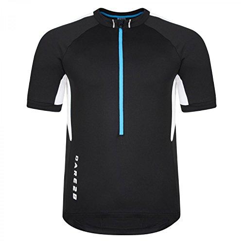 Dare 2b Men's Retribute Cycle Jersey - US S - Black from Dare 2b