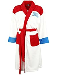 Official Ladies Suicide Squad Harley Quinn Daddy's Little Monster Adult Bathrobe