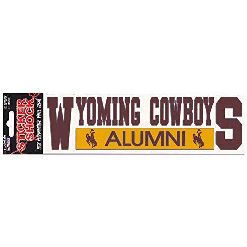 NCAA Wyoming Cowboys Alumni Car Decal