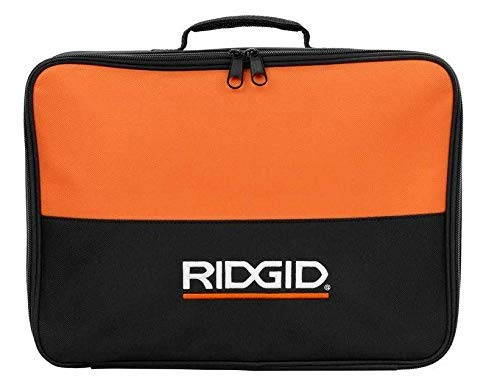 Ridgid Tool Bag (14x11x3) Carrying Case for 18 Volt Drill Impact & Battery or Collated Screw Gun (Bulk Packaged) (Renewed) ()