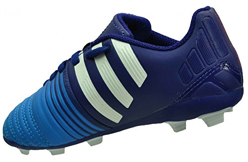 Botas Adidas Nitrocharge 4.0 FxG -Junior- Azul - azul