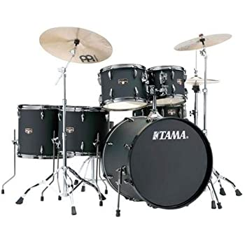 tama imperialstar 6 piece complete kit with meinl hcs cymbals and 22 in bass drum. Black Bedroom Furniture Sets. Home Design Ideas