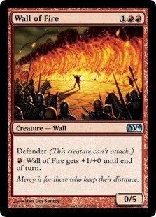 Magic: the Gathering - Wall of Fire - Magic 2010