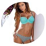 Night language 2019 Women Push Up Swimsuit Sexy Bikini Set Swimwear Bandeau Female