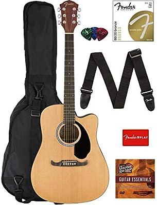 Fender FA-125CE Acoustic-Electric Guitar Bundles