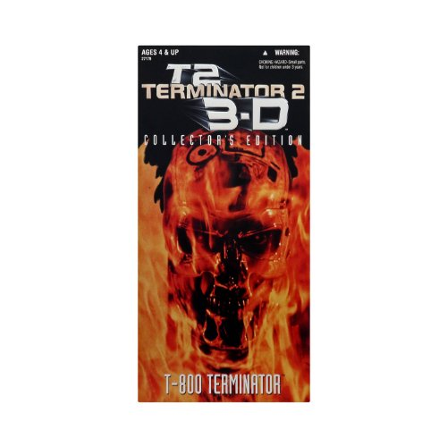 "12"" Terminator 2 Judgement Day T-800 Terminator Arnold Schwarzenegger Action Figure (1997 Kenner)"