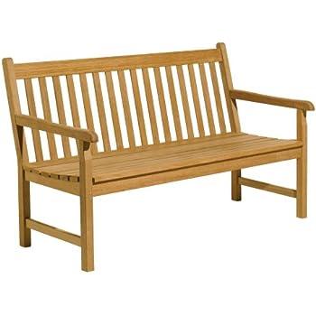 Amazoncom Oxford Garden Classic 5 Foot Shorea Bench Outdoor