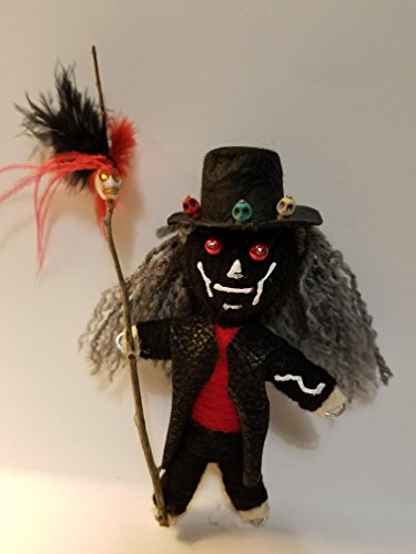 Authentic Voodoo Dolls (Papa Legba Voodoo Doll Altar Piece)