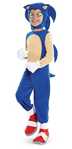 [Costumes 211597 Sonic the Hedgehog- Sonic Child Costume Size: Medium] (Hedgehog Costumes For Kids)