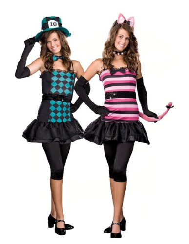[MAD ABOUT YOU JR SMALL] (Mad Hatter Costume Female)