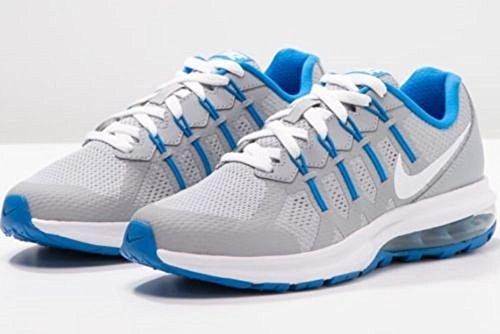 Nike Wolf Grey / White-Photo Blue, Zapatillas de Running Para Niños Gris (Wolf Grey / White-Photo Blue)