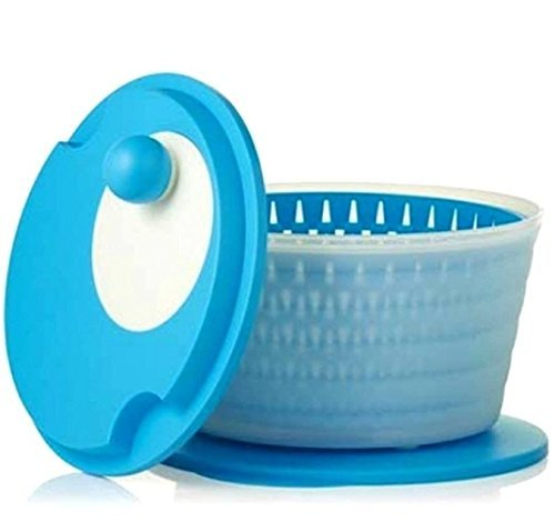 Tupperware Spin 'N Save Salad Spinner in Light Blue by Tupperware