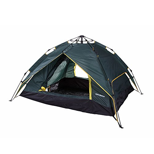 North Gear Double Layer 3 Person Instant Tent by North Gear