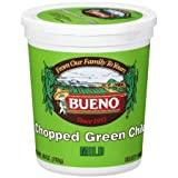 Green Chile, Chopped, MILD, 28oz. Tubs, Pack of 4, Frozen